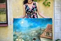 Krajinou ksobě prostřednictvím obrazů Adély Rúčkové