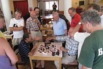 Vložený bleskový turnaj v rámci Rychnovského šachového festivalu.