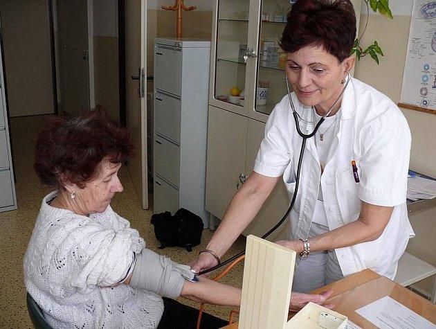 Návštěva u lékaře. Ilustrační foto.