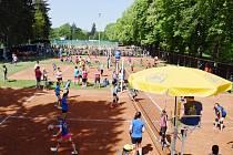 Letošních Jarních turnajů mládeže v Kvasinách se zúčastnilo na 400 malých volejbalistů.