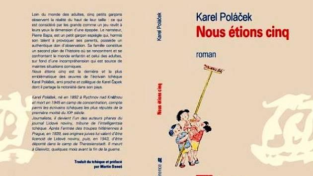 Obálka knihy Bylo nás pět ve francouzštině.