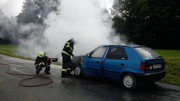 Dopravní nehoda u Bohdašína