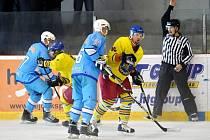 Krajská hokejová liga: Opočno - Nová Paka.