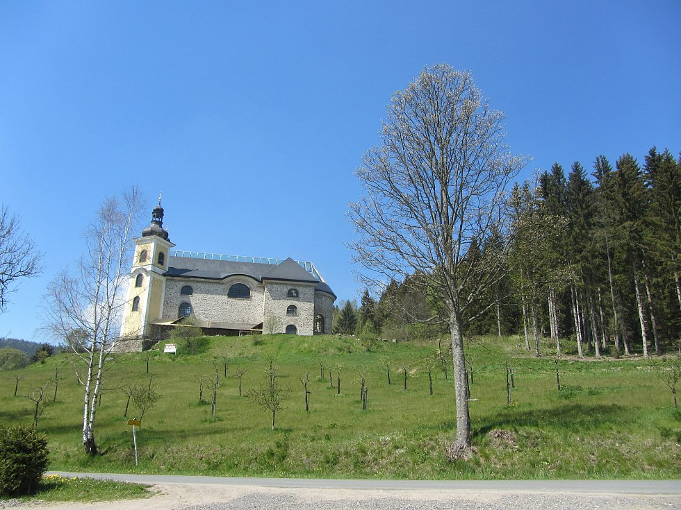 Neratovský kostel.