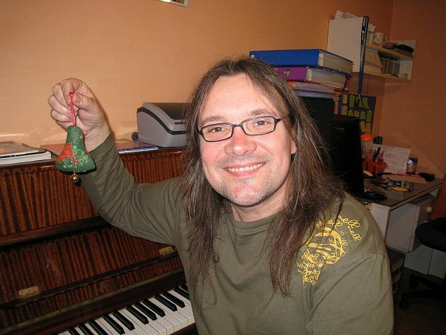 Rychnovský hudebník Roman Dostál.