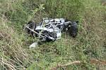 Tragická dopravní nehoda u Doudleb nad Orlicí.