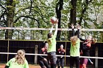 Volejbalový svátek: Kvasiny o posledním dubnovém víkendu hostily Jarní turnaj mládeže.