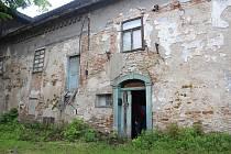 Pohled do bývalého mlýna v Českém Meziříčí.