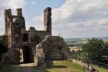 Zřícenina hradu Potštejna, Rychnovsko, Královéhradecký kraj