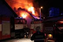 V Nové Vsi hořel rodinný dům, škoda přesáhla milion korun