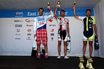 VÍTĚZ kategorie mužů 40 49 let Jan Hauf (vpravo) společně s druhým Marcelem Boháčem.
