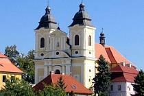 Kostel sv. Jiří v Kostelci nad Orlicí.
