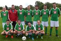 Vítězný tým domašínského turnaje - FO Křovice.