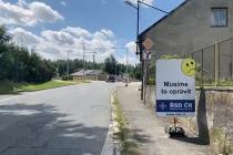 Oprava výpadovky v Borohrádku