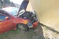 Střet vozidel si vyžádal jednoho raněného.
