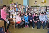 Žáci v knihovně poznávali život a dílo Karla Poláčka