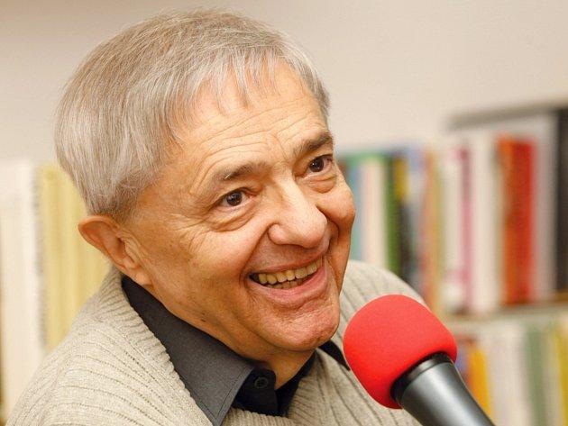 Miloň Čepelka v Českém rozhlase Hradec Králové