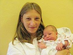 MONIKA LECÁKOVÁ: Rodiče Alena Havelková a Martin Lecák z Uhřínova se radují z dcery. Narodila se 16. května v 10.39 hodin s váhou 3,50 kg a délkou 48 cm. Tatínek u porodu přímo úžasně podporoval maminku.