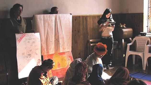 Projektové vyučování v Základní škole Mozaika.