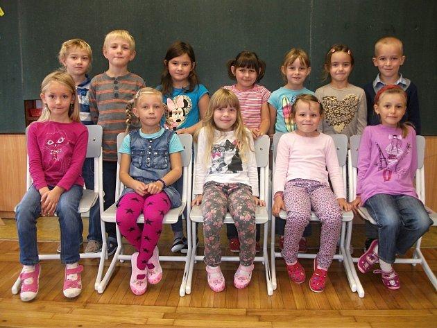 První třída Základní školy v Lípě nad Orlicí