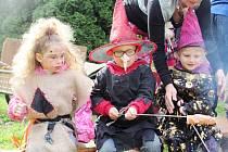 Čarodějky řádily i ve školce.