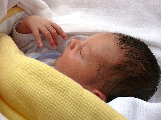 ONDŘEJ PUMR: Narodil jsem se 27. 5. 2008 mamince Evě a tatínkovi Martinovi, vážil jsem 3,9 kg a měřil 52 cm. Doma v Dobrušce se na mě těší můj velký bráška Jéňa (12). Tatínek byl pro maminku u porodu velkou oporou.