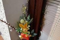 Velikonoční výzdoba.