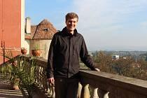 Kastelán zámku Opočno Tomáš Kořínek