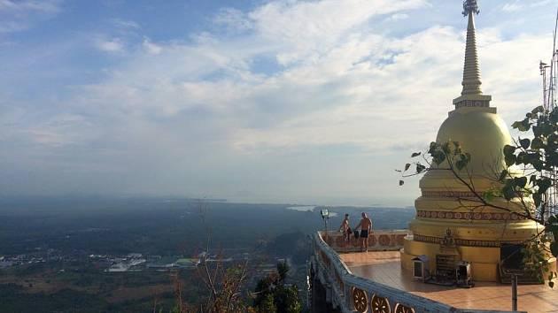 Libor Hájek z Domašína během vánočních svátků poznával krásy Thajska.