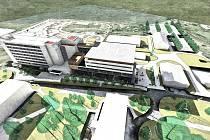 Kraj hledá projektanta pro modernizaci nemocnice.