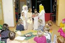 """""""Ježíškování"""" v Broučku se moc  líbilo. Nejen dětem"""