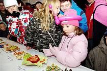Děti vítaly nový rok v předstihu s nadšením