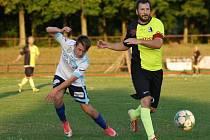 Krajský přebor ve fotbale: MFK Nové Město nad Metují - FC Spartak Rychnov nad Kněžnou.