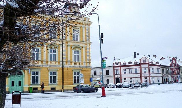 Kupkovo náměstí (dříve velké) prošlo v minulých letech velkými úpravami.