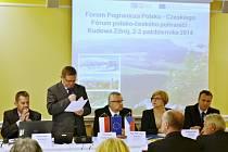 Fórum polsko českého pohraničí Euroregionu Glacensis v Lázních Chudoba