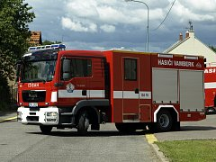 Nové auto vambereckých hasičů