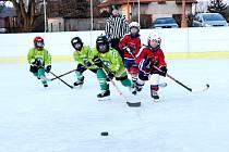 """Hokejový turnaj pro přípravky ročníku 2010 a mladší """"O pohár starosty Čestic""""."""