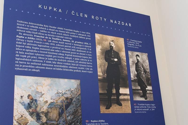 Dům Františka Kupky v Dobrušce v novém. Z muzea.