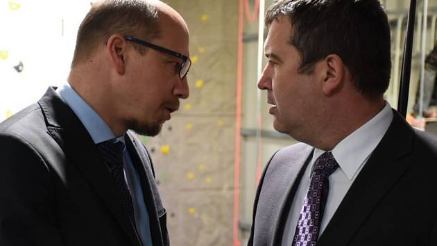 Hejtman jednal s ministrem vnitra o potřebách průmyslové zóny.