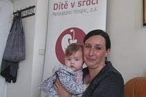 Zakladatelka perinatálního hospicu Dítě v srdci Alena Peremská.