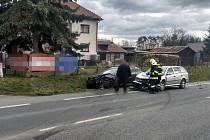 Záchranáři vyjeli k vážné nehodě u Dobrušky, na místě zemřel člověk.