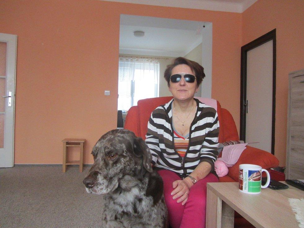 Renata Moravcová a její věrný průvodce Xanto.