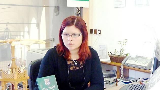 Tereza Rabenseifnerová v IC Opočno