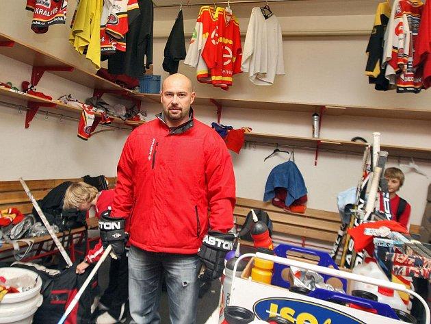 Bývalý hráč Hradce Králové Martin Táborský kvituje, že v základně je 120 malých hokejistů