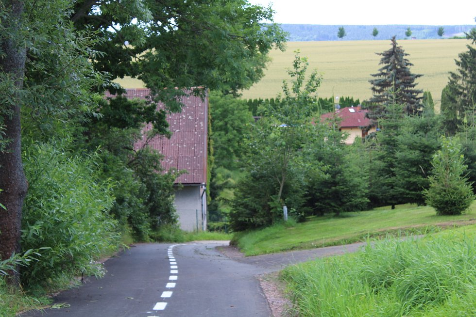 Cyklostezka spojila také obec Lupenici s Rychnovem.