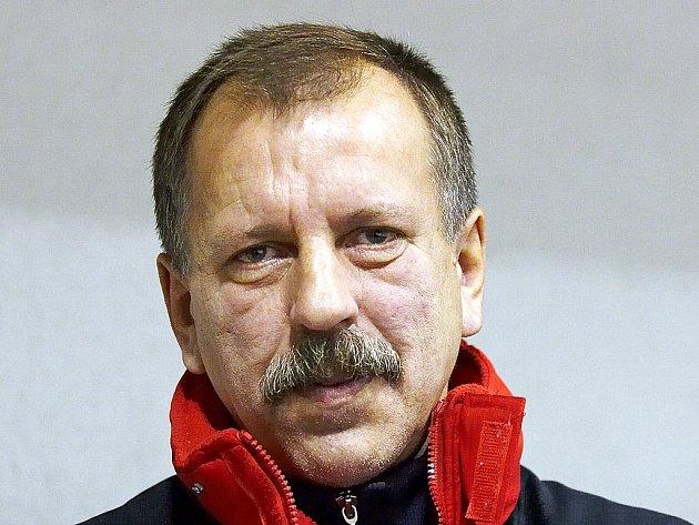 Trenér Josef Bahník.