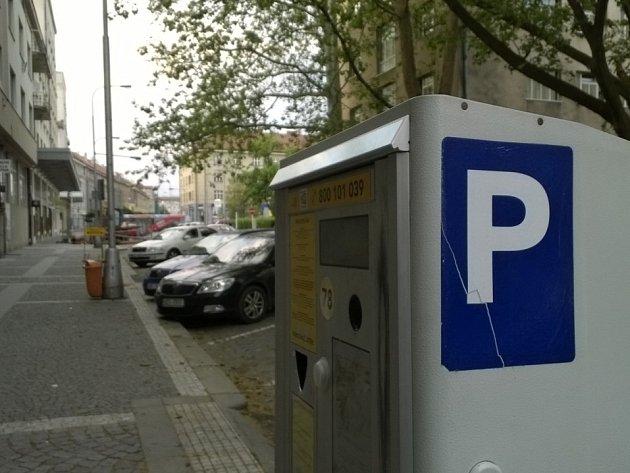 parkoviště ilustrační foto