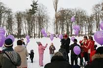Balonky s přáním Ježíškovi letěly k nebi i na Rychnovsku