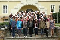 GYMNÁZIUM F. M. PELCLA přivítalo ve svých třídách a domovech studenty z německého Magdeburku, kteří přijeli do Rychnova na týden.