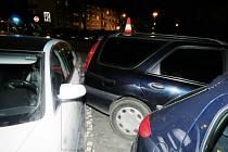 K couvání, které se značně prodražilo, vyjížděla hlídka dopravních policistů 31. prosince.